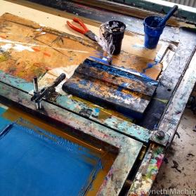screen printing art