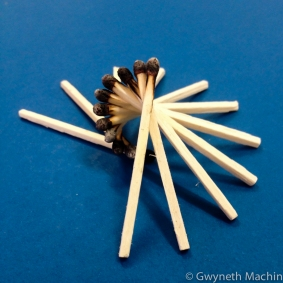 Matchstick Art Sculpture
