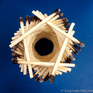 Matchstick Art Sculpture