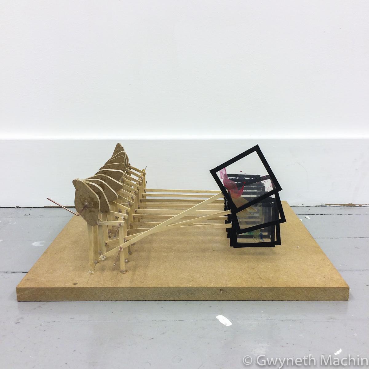 A Piece of an Artist, Sculpture